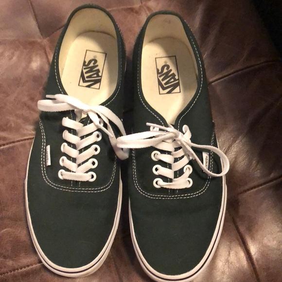 Vans Shoes - Forest green vans b0ca7e48a